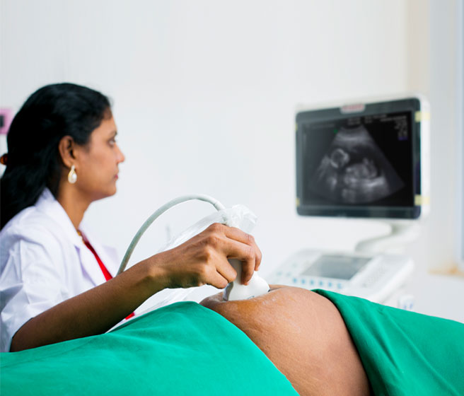 Scanning Process in fertility evaluations and fertility treatment in India